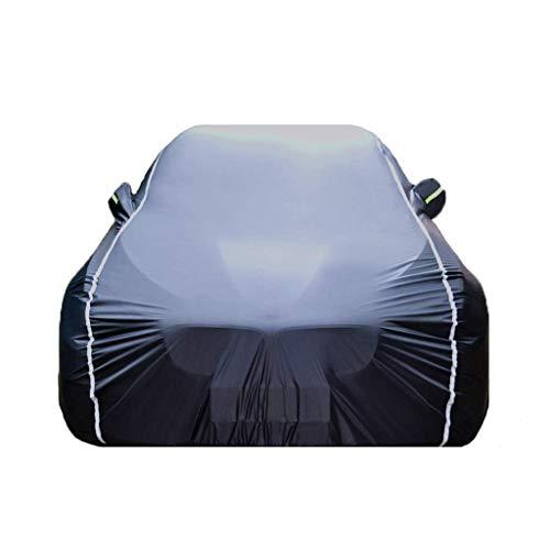 WSJCar Covers Four Seasons Universal Wasserdicht UV Atmungsaktiv Staubdicht Schutz Outdoor Schutz Kompatibel Mit Citroen C6 Car Cover Jacken Schutzkleidung (Farbe: Schwarz)