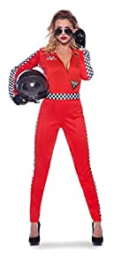 Folat-Mujer Racing Sexy Jumpsuit