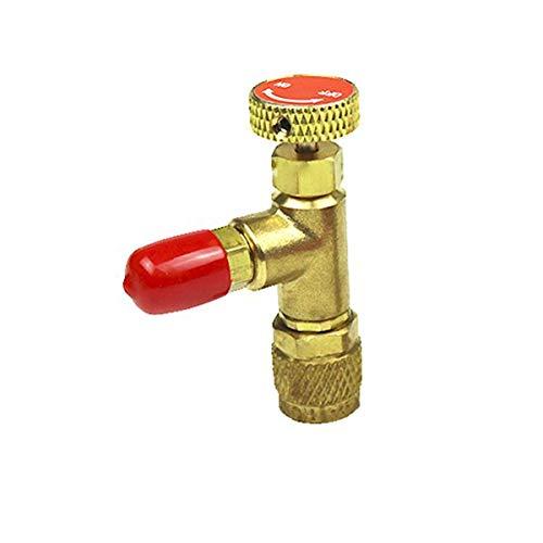 JYYC Accueil pour la climatisation et la soupape de sécurité au fluorure R22 Plus soupape de sécurité au fluorure R410 soupape de sécurité pour Interrupteur à liquide-R410