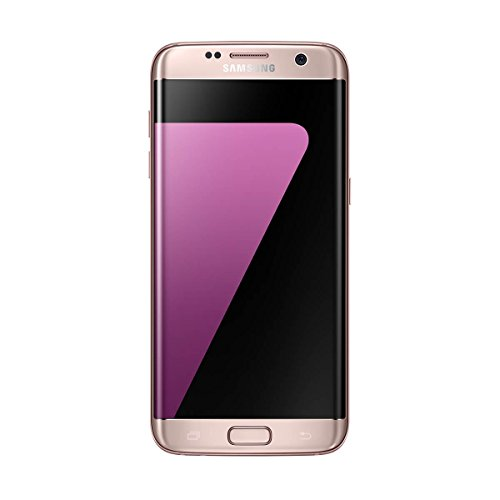 Samsung Galaxy S7 Edge - Smartphone libre de 5.5' QHD (4 G, Bluetooth, Octa-Core de 2.3 GHz, 32 GB memoria interna, 4 GB RAM, pantalla dual Edge Super Amoled, cámara de 12 MP, Android 6.0, Versión española), color Rosa