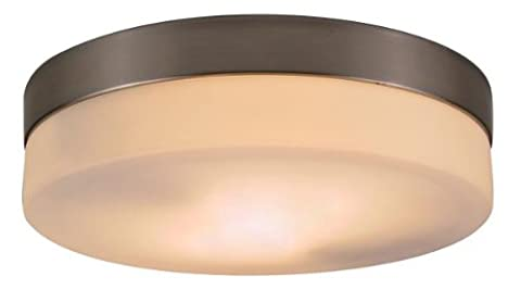 Globo E27 40 Watt 230V 2 x Glass Opal Nickel