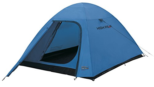 High Peak 10305 Tente dôme Mixte Adulte, Bleu/Gris, 280 x 150 x 110 cm