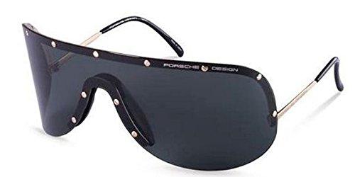 Unbekannt Porsche Design Sonnenbrille P 8550 Mattschwarz A P8550