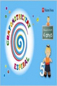 Grafomotricitat. Espiral. 4 Anys (Espiral Magica Material Alumno) - 9788431698737