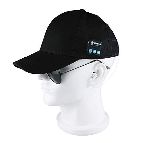 NEMACH Kopfhörer Kabelloses Bluetooth Kopfhörer-Kappe Smart Outdoor Sportarten im freien Baseball Kappe Sonnenhut rufen Musik Hut Mütze