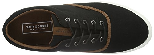 Jack & Jones JJKOS, Sneakers Basses Homme - - Noir (Anthracite)