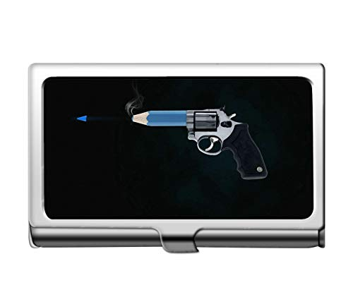Professionelle Business-Kreditkartenetui/ID-Hülle, Art Gun Professionelle Visitenkarte