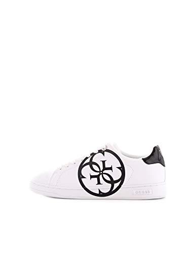 Guess Scarpa da Donna Sneaker MOD. CAMBRY in Ecopelle Bianco D20GU10