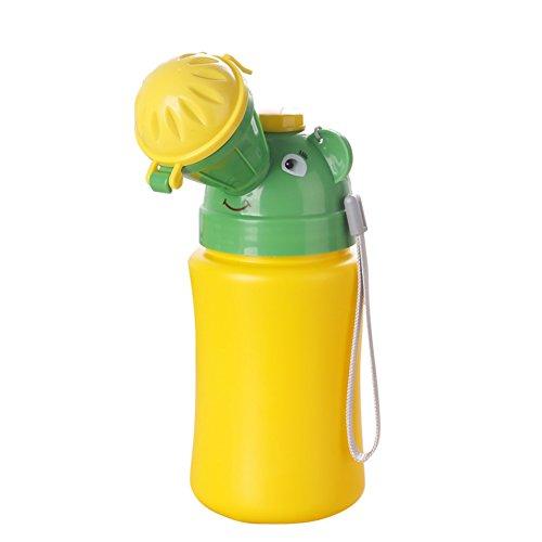 Tragbare Toilette Töpfchen für Kinder, Reisen Pee Flasche Training Pee Urinal Notfall-WC für Camping (3 8 1 4 Drehen Sie Das Ventil)