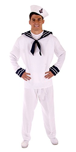 MENS ADULT ahoi Seemann MATE FANCY DRESS OUTFIT -