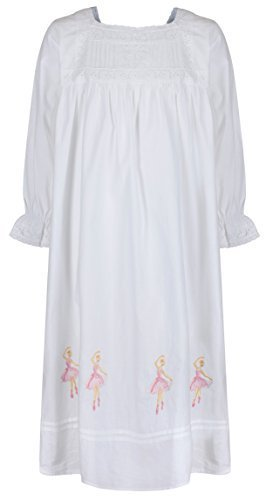 the-1-for-u-100-cotton-girls-nightdress-ballerina-nightie-age-4-12-sophie-age-8-9