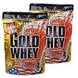 Weider Gold Whey zak dubbelpak (2 x 500 g) Banana-split, 1-pack (1 x 1 kg)
