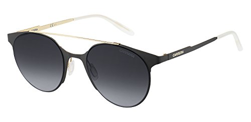 Carrera Unisex-Erwachsene 115/S HD 1PW Sonnenbrille, Gold Blackmt/Grey Sf, 50