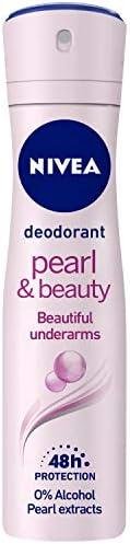 NIVEA Deodorant, Pearl & Beauty, Women, 1