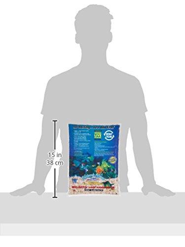 Nature's Ocean Bio-Activ Live Aragonite Reef Substrate, 8 lbs 2