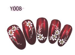 Stickers Water decal Ongles - Y008