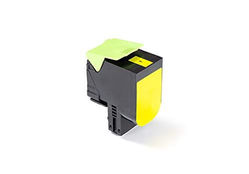 Green2Print Toner gelb 3000 Seiten ersetzt Lexmark 80C0H40, 800H4, 80C2HY0, 802HY, 80C2HYE, 802HYE passend für Lexmark CX410DE, CX410DTE, CX410E, CX510DE, CX510DHE, CX510DTHE - 3000 Gelb Toner