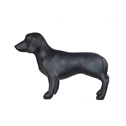 ZLBYB Dekoration Skulptur-Mini Haustier Hund Statue Home