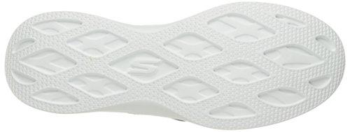 Skechers Go Step Lite-Effortless, Allenatori Donna Nero (Black/white)