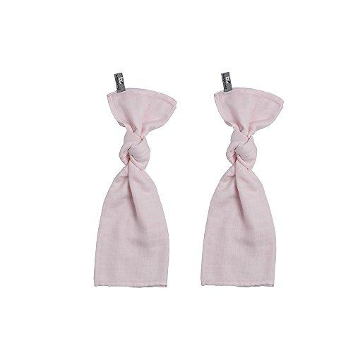 Baby's Only 921001 Swaddle Pucktuch 2er Set klassisch rosa 60x70 cm
