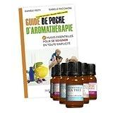 KIT AROMATHÉRAPIE : 8 Huiles essentielles 10 ml H.E.B.B.D avec Guide d'Aromathérapie offert