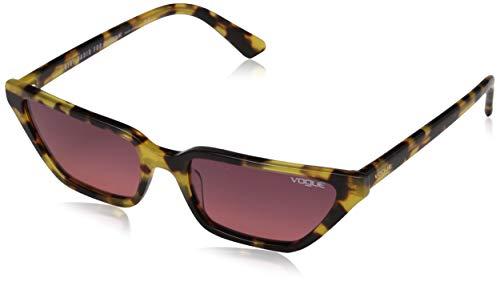 977107e623 Vogue Eyewear 0vo5235s 260520 53 Occhiali da sole, Marrone (Brown Yellow  Tortoise),