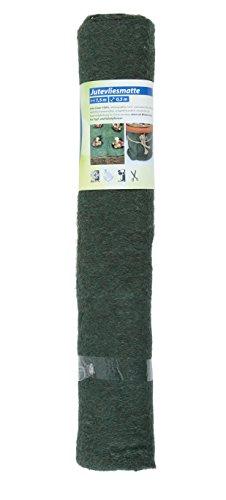 Floraworld 011604 Toile en Jute Tapis Classic, Vert foncé, 150 x 50 x 50 cm