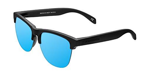 Northweek Gravity Deck - Gafas de Sol para Hombre y Mujer, Negro/Azul Hielo