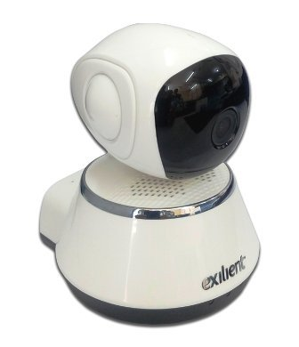 Exilient bFortified Smart Wireless Camera for Remote Monitoring from Android & iOS compatible smart phone