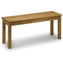 Julian Bowen Coxmoor - Banco nórdico de madera de roble