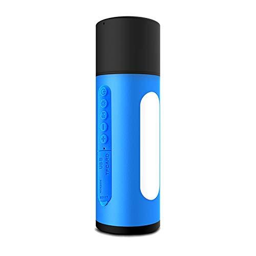 qiyanWireless Smart Bluetooth Lautsprecher Mini Audio Portable LED Subwoofer Sound Blau