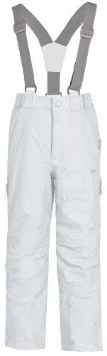 Trespass, Pantaloni da sci Bambini Nando, Bianco (blanc), 2-3 anni
