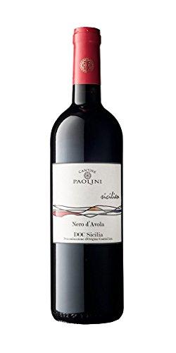 Cantine paolini - nero d'avola doc sicilia, 750 milliliters