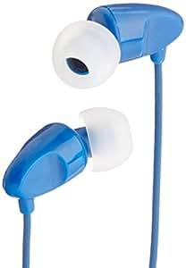 AmazonBasics in-Ear Headphones with Mic (Blue)