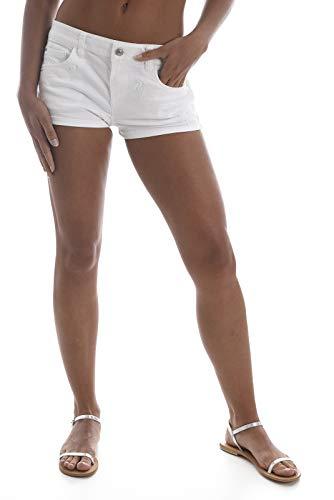 Guess Mini Short Brodé Palmier W82d10 Jeans
