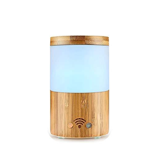 Aroma Diffuser 160ml Luftbefeuchter Ultraschall Vernebler Ultra Leise BPA-Free Öle Diffusor mit 7 Farben LED Humidifier Duftlampe intelligent WiFi Alexa App-Steuerung