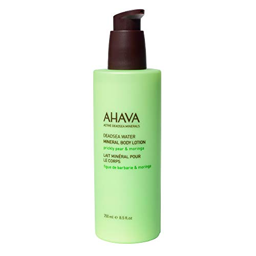 Ahava Body Lotion (Ahava Bodylotion Mineral Prickly Pear & Moringa 250 ml, Preis/100 ml: 8.39 EUR)