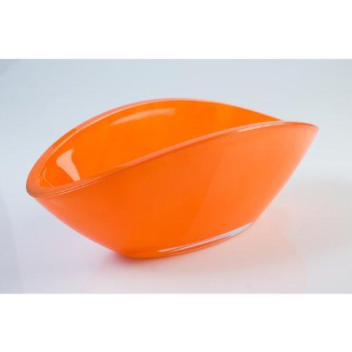 Ciotola di vetro / Ciotola decorativa ovale