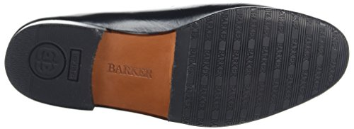 BARKER Herren Jefferson Slipper, Schwarz Black (Black Kid)