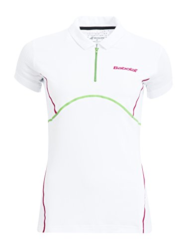 Babolat Oberkörper-Bekleidung Polo Match Performance Women, Weiß, XS, 41S1517-101 Preisvergleich