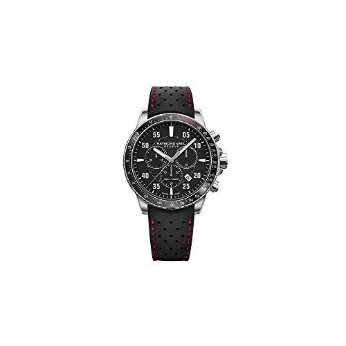 Reloj de Cuarzo Raymond Weil Tango, Negro, 43 mm, Cronógrafo, 8570-SR1-20701