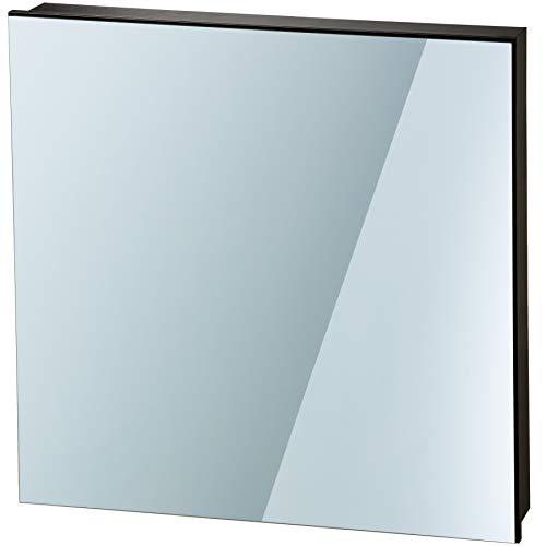 TecTake Spiegel Infrarotheizung Spiegelheizung ESG Glas Elektroheizung Infrarot Heizkörper Heizung inkl. Wandhalterung - diverse Modelle - (450 W | 62x62x4 cm | Nr. 402465)