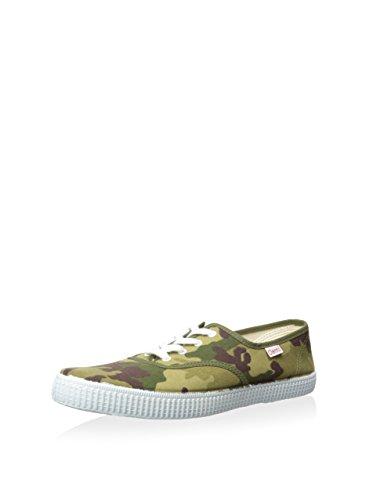 CIENTA , Jungen Sneaker verde/marrone