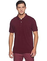 blackberrys Men's Solid Slim Fit T-Shirt