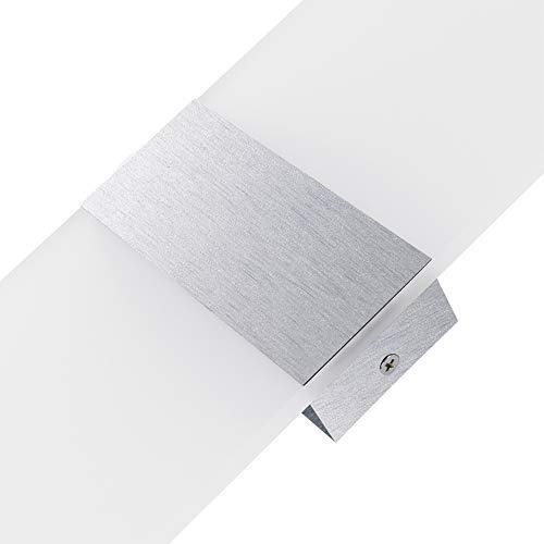 GFCGFGDRG 18W LED Wandleuchte,40 * 16 White Box rechtwinklig Modern Lampe Schlafzimmer Licht für Wohnzimmer Treppenhaus Weißes Licht -