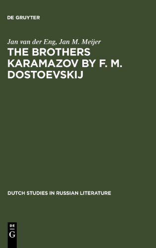 the-brothers-karamazov-by-f-m-dostoevskij-dutch-studies-in-russian-literature