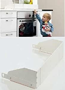 protection pour plaque de cuisson gaz et lectrique babydan argent b b s. Black Bedroom Furniture Sets. Home Design Ideas
