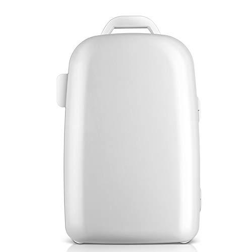 SJLHP 28-Liter-Autokühlschrank, Heiz- und Kühlbox, tragbare kleine, kompakte, eintürige Dual-Core-Studentenwohnheimautos Road Trips Homes -