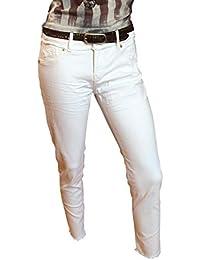 ATT Amor Trust /& Truth Damen Jeans Leoni 7//8 Länge cropped weiß