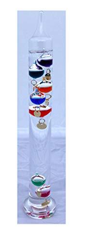 30cm tall Free standing galileo thermometer - Hängen Galileo-thermometer
